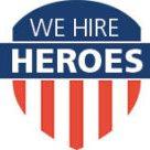 """""""We Hire Heroes"""""""