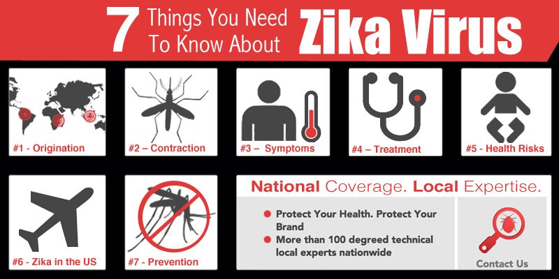 7 Things You Need To Know About Zika Virus graphic