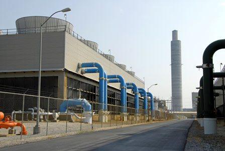 Power Plant Scrubber Facility.